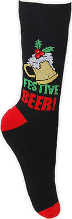 1 to 4 Pairs Assorted Mens Winter Novelty Festive Fun Christmas Ankle Socks in 4 Designs UK 6-11