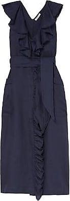 Three Graces London Mabel Dress in Indigo
