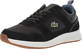 Lacoste Mens Joggeur Sneaker, Black/Navy, 13 Medium US