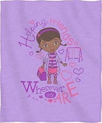 Disney Doc McStuffins, Doc Love Sweatshirt Throw Blanket, 50 x 60, Multi Color