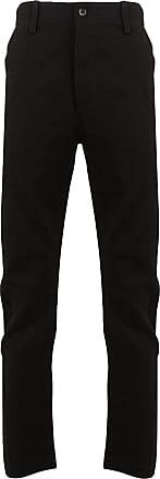 Uma Wang Felix striped trousers - Black