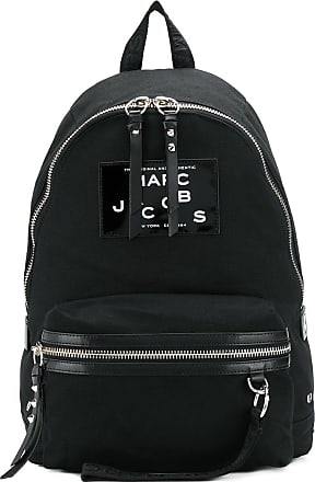 Marc Jacobs Mochila com patch envernizado de logo - Preto