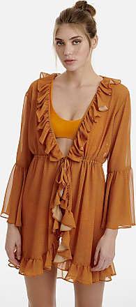 Sugarfree Short ruffled dress/kaftan