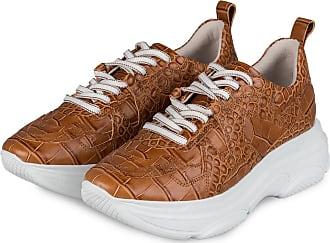 Kennel & Schmenger Plateau-Sneaker - BRAUN