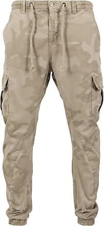 Urban Classics Camo Cargo Jogging Pants beige / sand / hellbeige