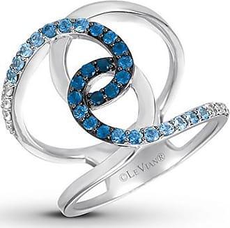 Le Vian Denim Ombre Sapphire Ring 14K Vanilla Gold