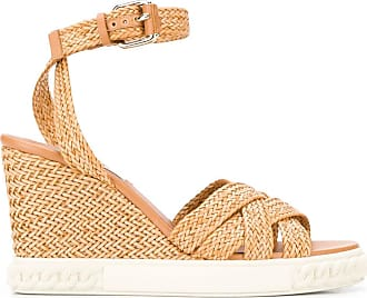 Casadei Twiga wedge sandals - Brown