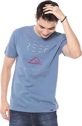 Reef Camiseta Reef Minimalism Azul