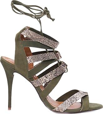 My Shoes SANDÁLIA FEMININA DE TIRAS - VERDE