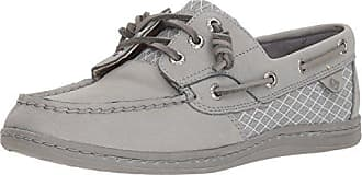 Sperry Top-Sider Sperry Womens Songfish Boat Shoe, Grey, 6.5 M US