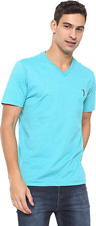 Aleatory Camiseta Aleatory Logo Azul