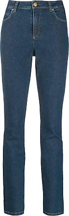 Escada skinny patch jeans - Azul