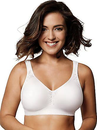 NWT Bra Playtex 18 Hour 4803 Silky Soft Smoothing Wirefree Breathable White 42C