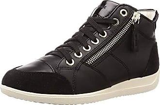 GEOX Sneaker D MYRIA bordeaux Damen Schuhe Flacher Absatz
