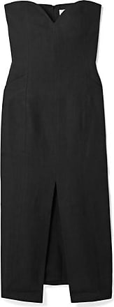 Mara Hoffman Diaz Hemp Midi Dress - Black