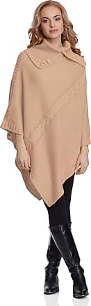 Merry Style Womens Poncho 2V3T1(Apricot, One Size)