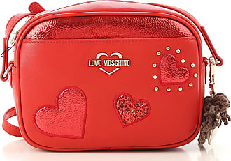 Moschino Shoulder Bag for Women On Sale, Red, polyurethane, 2017, one size