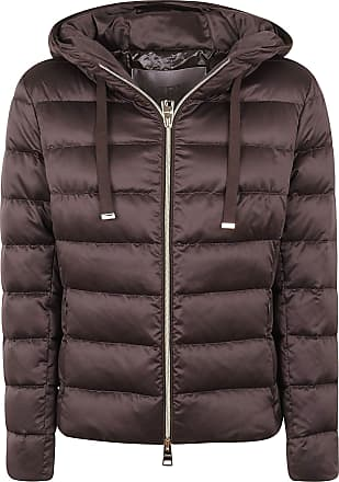 Herno Fashion Woman PI056DR121988800 Brown Polyester Down Jacket | Fall Winter 20