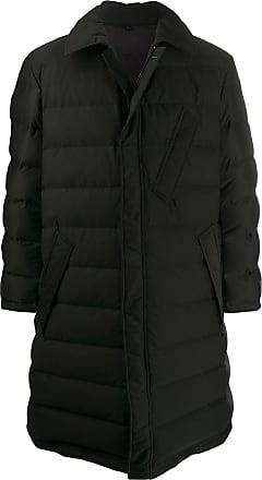 Yohji Yamamoto seamless down coat - Black