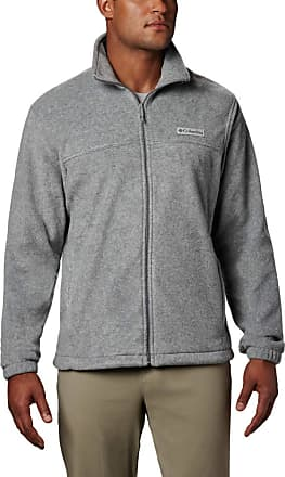 Columbia mens147667Steens Mountain Full Zip 2.0 Fleece Standing Collar Long Sleeves Fleece Jacket - Grey - XL