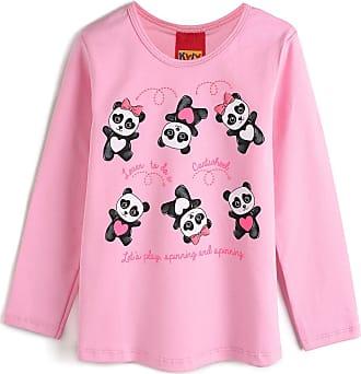 KYLY Blusa Kyly Menina Panda Rosa