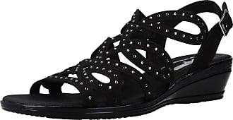 24 Horas Women Sandals and Slippers Women 24510 Black 3.5 UK