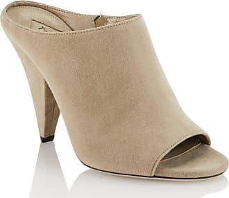 Tamara Mellon Kendra Buff Suede Sandals, Size - 37.5