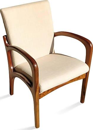 Atelier Clássico Cadeira VK com Braço Inspirada no Design de Vladimir Kagan