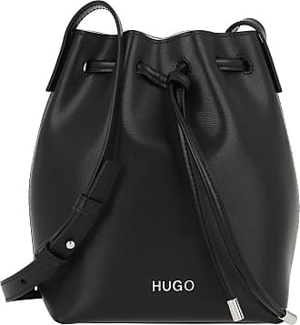 HUGO BOSS Bucket Bags - Downtown Small Drawstring Bag Black - black - Bucket Bags for ladies
