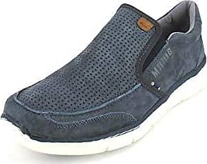 Mustang Herren Sneakers Turnschuhe Slipper Schlupfschuhe 4101-401-9 Schwarz Neu