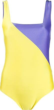 FAUSTO PUGLISI colour block bodysuit - Roxo