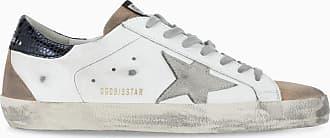 Golden Goose Sneaker Superstar bianca, nude e nero
