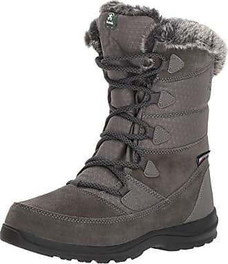 kamik Womens POLARWIDE Snow Boot Charcoal 5 Wide US