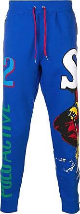 Polo Ralph Lauren ski print track pants - Blue