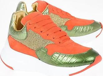 Alexander McQueen Leather OVERSIZED RUNNER Sneakers Größe 35,5