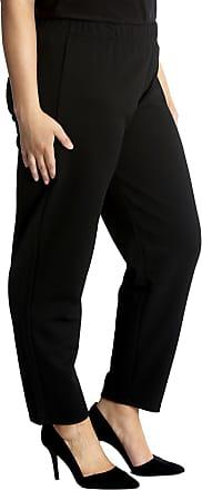 Nouvelle Collection Plain Textured Polka Dot Trouser Black 14