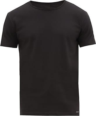 Paul Smith Pack Of Two Cotton-jersey Pyjama T-shirts - Mens - Black