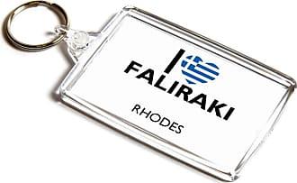 ILoveGifts KEYRING - I Love Faliraki - Rhodes - Greece