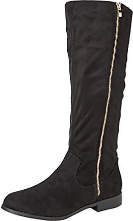 New Look Wide Foot Brum, Bottes Hautes Femme, Noir (Black 1), bbab36f3ae77