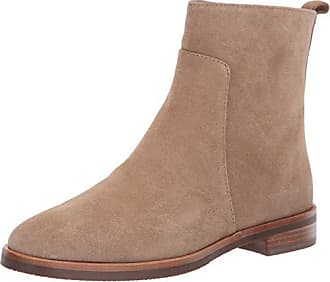 Gentle Souls by Kenneth Cole Womens Terran Flat Ankle Bootie Boot, camel, 8.5 M US