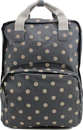 Your Dezire Womens Ladies Oilcloth Backpack Rucksack School College Shoulder Laptop Bag Womens Grey
