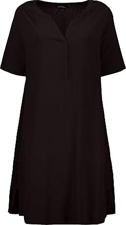 Ulla Popken Womens Plus Size Blue Feather Print Tank Beach Dress 722115