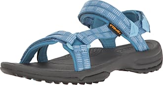 Teva Terra FI Lite Womens Walking Sandals - 4 Blue