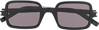 Saint Laurent Eyewear Óculos de sol quadrado - Preto