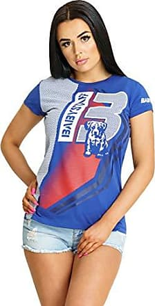 Babystaff Veva Frauen Sport T-Shirt blau weiß Größe S M L XL