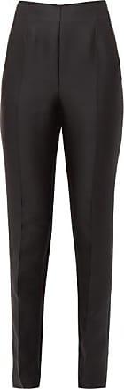 Gabriela Hearst Masto Silk-blend Trousers - Womens - Black
