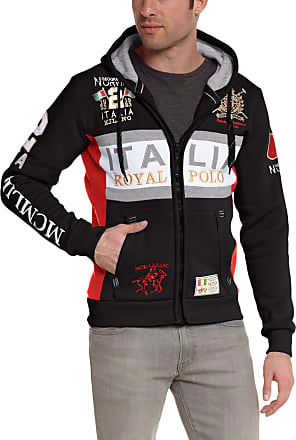 Geographical Norway Mens WK306H/GN Long sleeve Sweater - Black - Noir (Black) - XX-Large (Brand size: XXL)