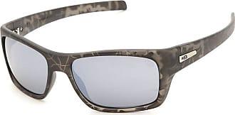 HB Óculos de Sol Hb Monster Fish Matte Onyx Military l Silver