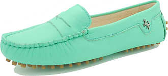 MGM-Joymod Womens Rubber Sole Slip-on Casual Comfortable Transparent Leather Driving Loafers Flats Outdoor Hiking Slide Boat Shoes 5.5 M UK