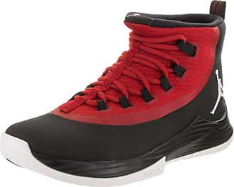 5e065d2ec84392 Nike Jordan Mens Jordan Ultra Fly 2 Black White Gym Red Basketball Shoe 9.5  Men